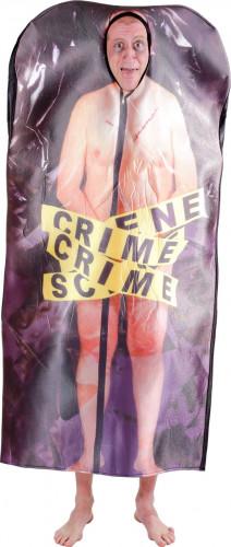 Costume cadavere scena del crimine