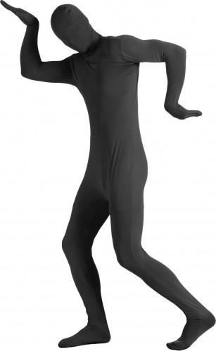 Costume seconda pelle nera adulto