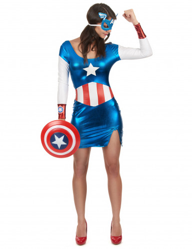 Costume Capitan Girl sexy Donna