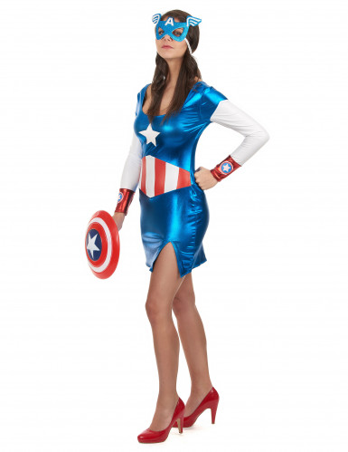Costume Capitan Girl sexy Donna-1