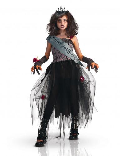 Costume miss gothic halloween