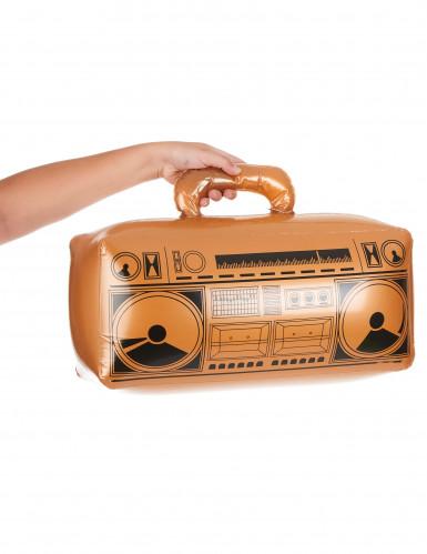 Radio gonfiabile d'oro-1