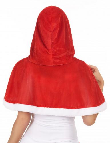 Mantello con capuccio Mamma Natale-1
