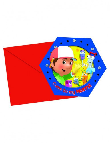 6 Inviti per feste Manny tuttofare™