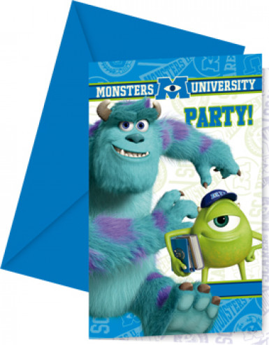 6 inviti Monster University™