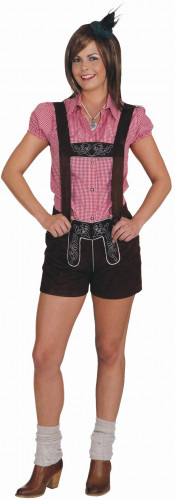 Costume pantaloncini Bavaresi donna