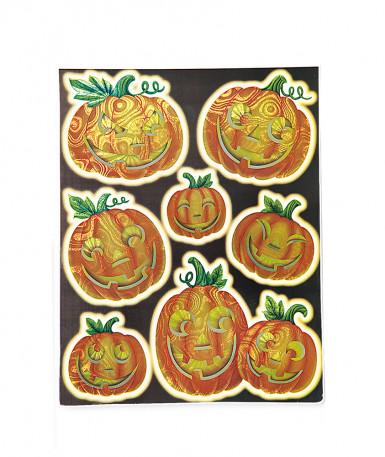 Decorazioni finestra zucca halloween for Decorazioni halloween finestra