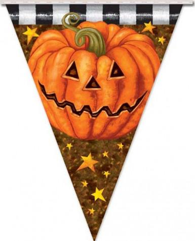 Ghirlanda zucca Halloween