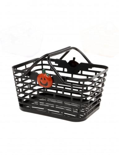 Cestino nero per caramelle Halloween