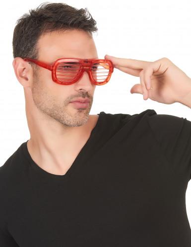 Occhiali rossi LED-1