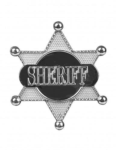 Stella da sceriffo con scritta