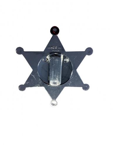 Stella da sceriffo con scritta-1