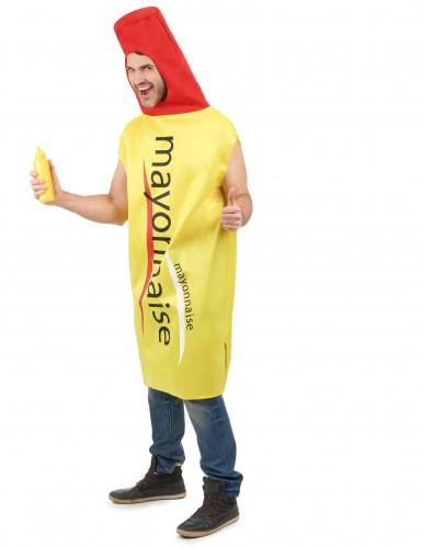 Costume barattolo maionese adulto-1