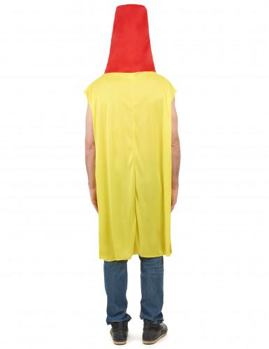 Costume barattolo maionese adulto-2