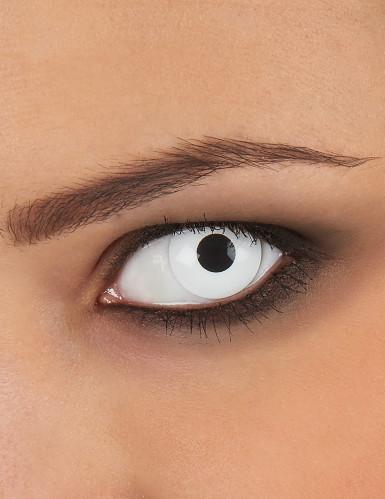 Lenti a contatto occhi bianchi