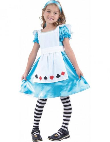 Costume da fanciulla delle meraviglie bambina