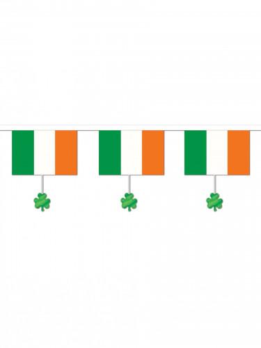 Ghirlanda irlandese con trifoglio irlandese