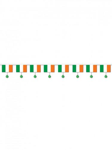 Ghirlanda irlandese con trifoglio irlandese-1