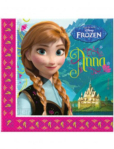20 Tovaglioli di carta Frozen - Il Regno di Ghiaccio™