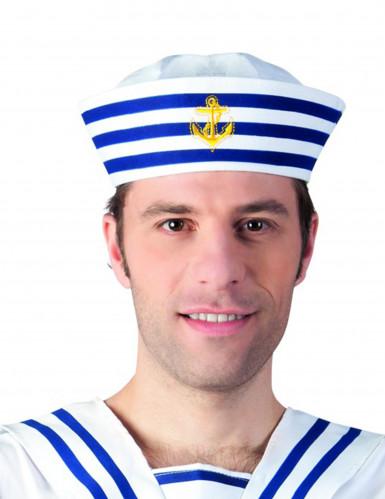 Cappello Marinaio a righe per Adulto
