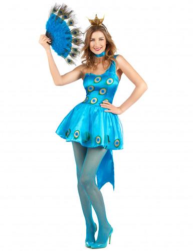 Costume da pavone per donna