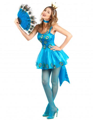Costume da pavone per donna-1
