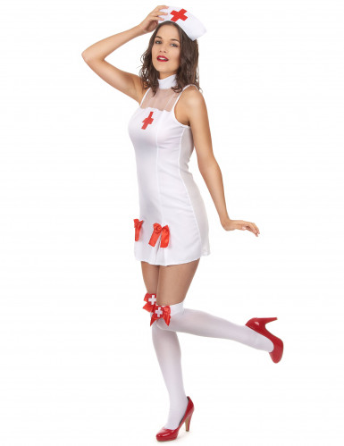 Costume da infermiera sexy da donna-1