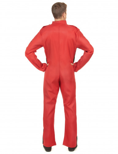 Costume da pilota da corsa per adulto-2