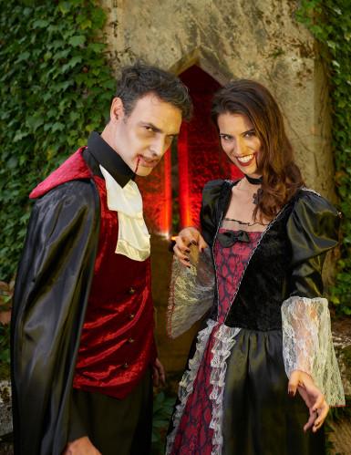 Costume da donna vampiro per Halloween-3