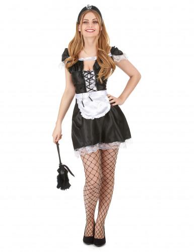 Costume cameriera sexy donna