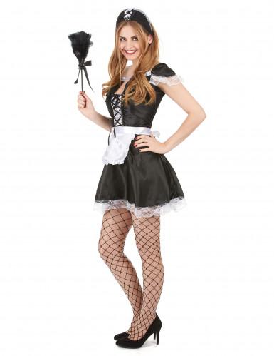 Costume cameriera sexy donna-1