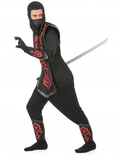 Costume ninja uomo con teschio-1