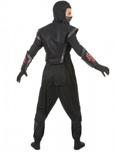 Costume ninja uomo con teschio-2