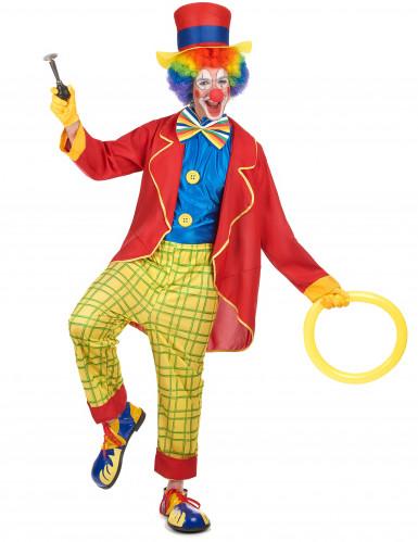 Costume clown con panciotto uomo