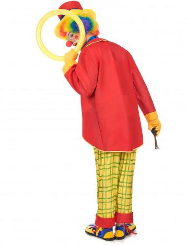 Costume clown con panciotto uomo-2