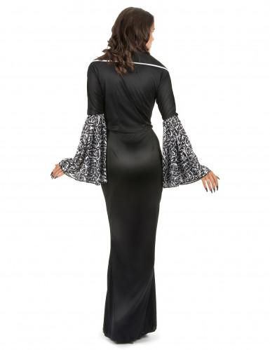 Costume vampira gotica donna-2