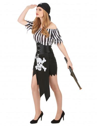 Costume da sexy pirata donna-1