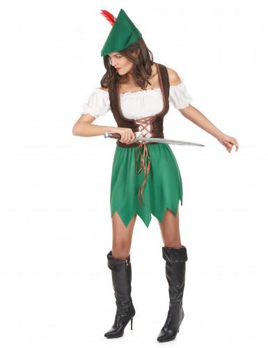 Costume da brigante dei boschi da donna-1