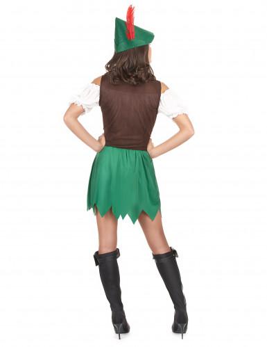 Costume da brigante dei boschi da donna-2
