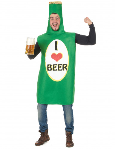 Costume bottiglia I love beer