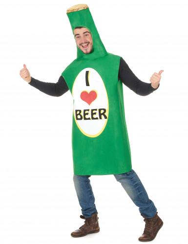 Costume bottiglia I love Beer-1