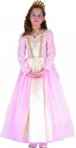 Costume da principessa in rosa per bambina