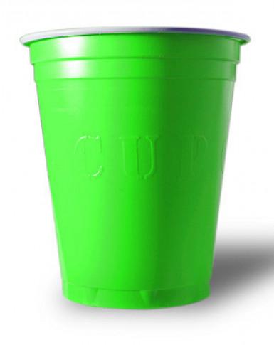 20 bicchieri americani Originale Cup™ verdi