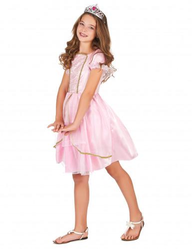 Costume da principessa in lilla per bambina-1