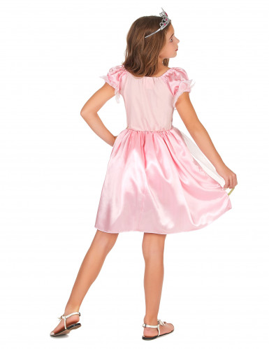 Costume da principessa in lilla per bambina-2