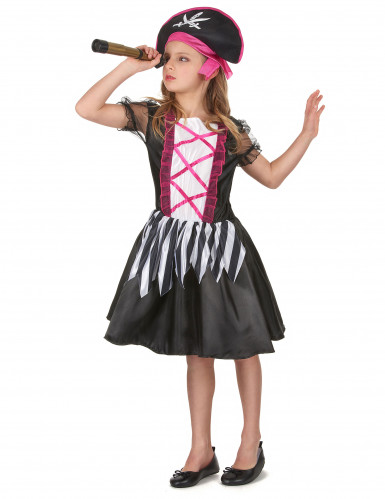 Costume da piratessa per bambina-1
