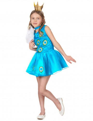 Costume da principessa pavone per bambina-1