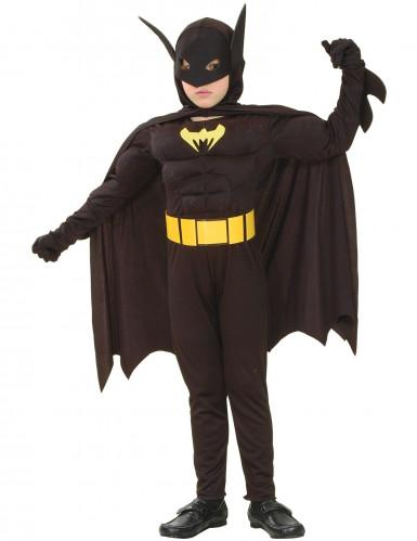 Costume da super eroe pipistrello per bambino