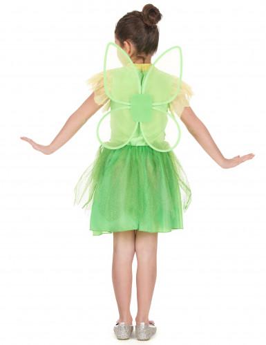 Costume magica fatina verde bambina-2