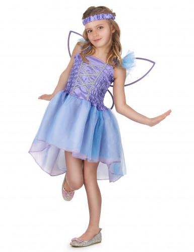 Costume da fata lilla per bambina-1